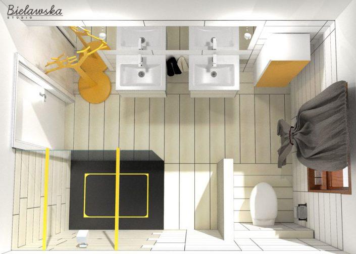 Łazienka na parterze 2